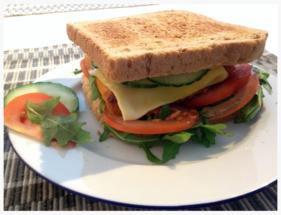 Backfischsandwich