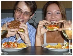 Lous Haloumi Burger