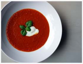 Omas Tomatensuppe